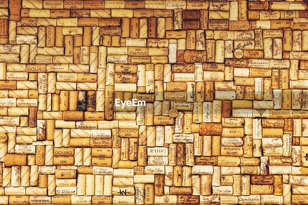 full frame, backgrounds, pattern, large group of objects, no people, textured, abundance, brown, close-up, wood - material, indoors, design, creativity, repetition, arrangement, architecture, day, art and craft, wood, built structure