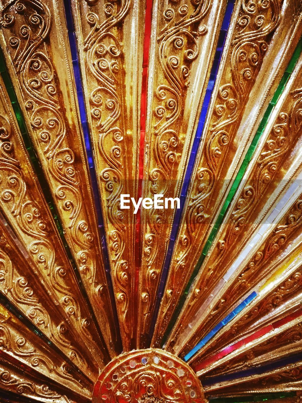 ornate, pattern, multi colored, backgrounds, full frame, no people, indoors, close-up, day