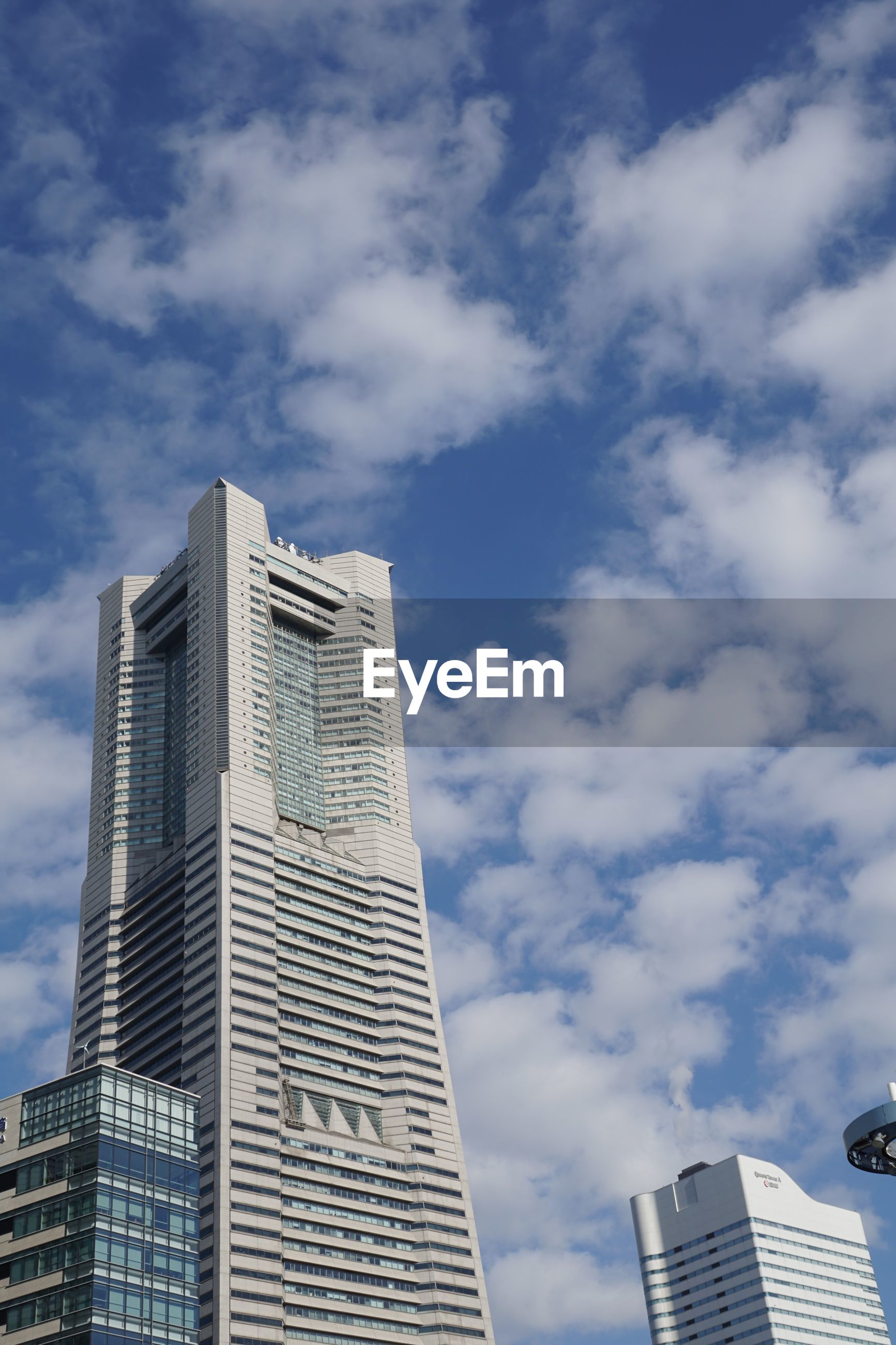 building exterior, architecture, built structure, building, cloud - sky, low angle view, sky, office building exterior, city, tall - high, office, skyscraper, tower, modern, nature, day, no people, outdoors, residential district, travel destinations, financial district