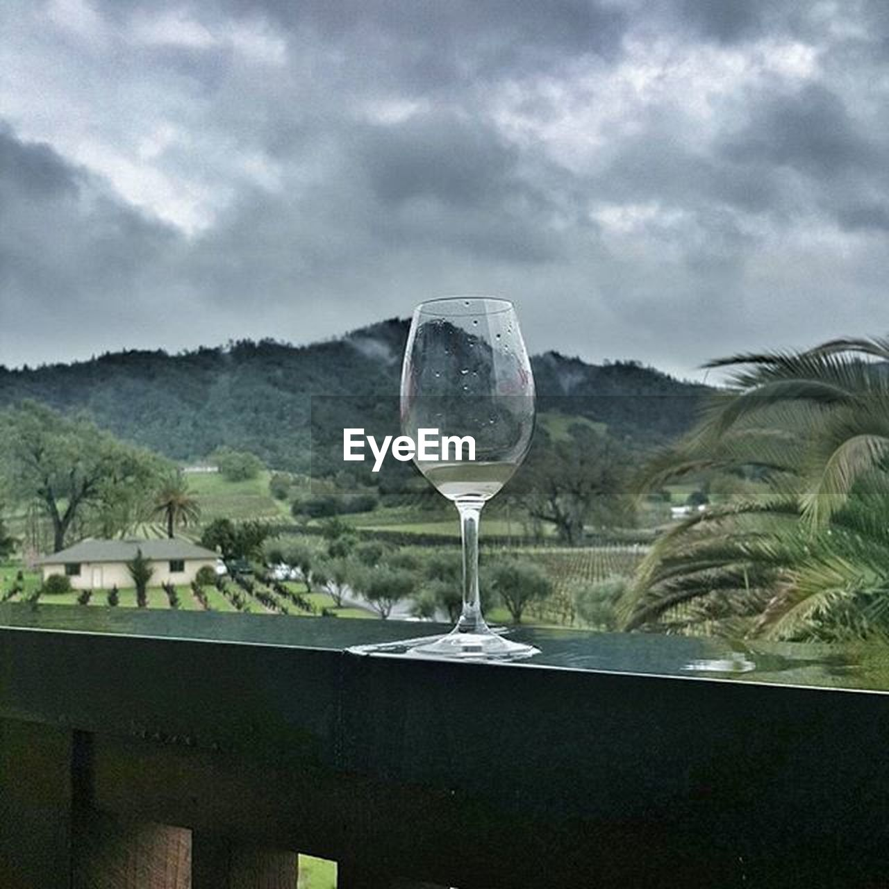 cloud - sky, sky, glass, drink, no people, nature, refreshment, alcohol, wine, day, mountain, wineglass, food and drink, plant, beauty in nature, tree, outdoors, scenics - nature, environment