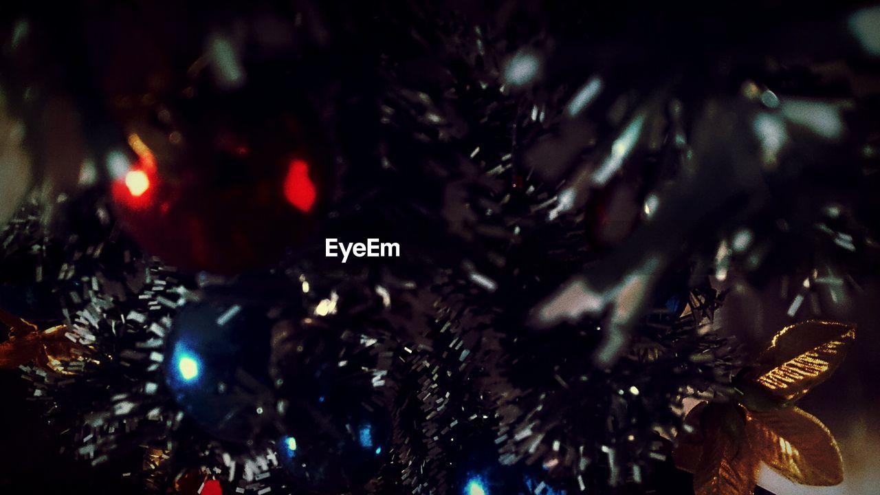 christmas, celebration, close-up, christmas decoration, christmas tree, tradition, no people, christmas ornament, night, indoors, full frame, tree, nature