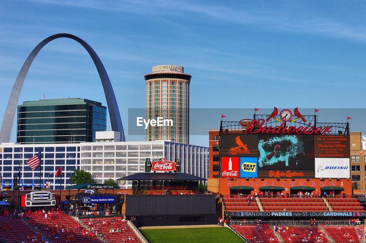 View Of The Saint Louis Missouri Skyline From Eyeem