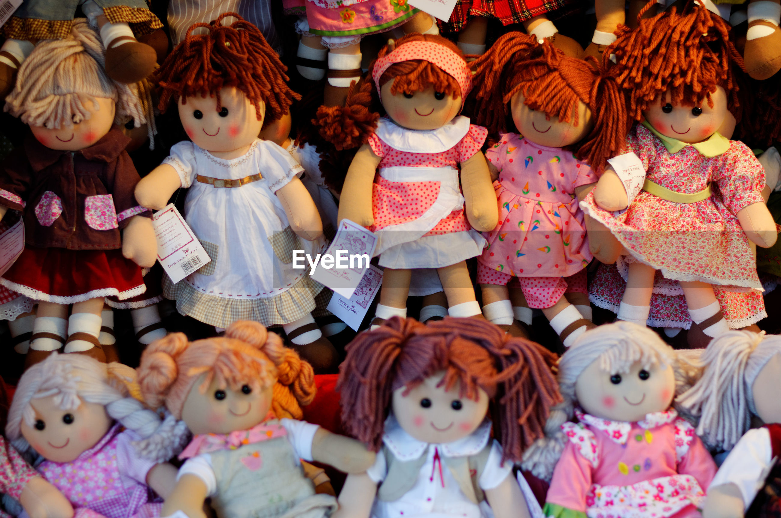 VARIOUS TOYS FOR SALE IN MARKET STALL