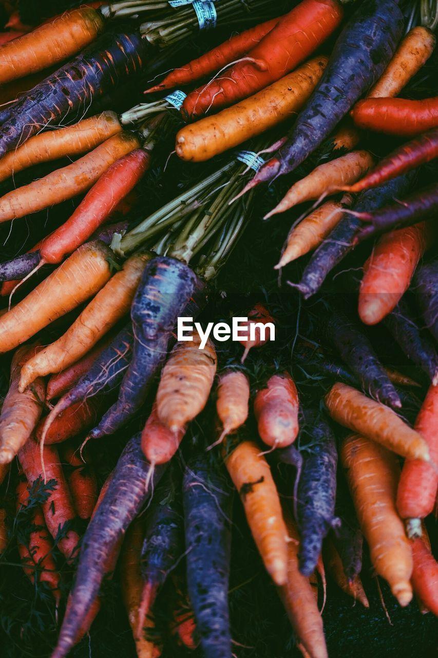 Detail Shot Of Carrots