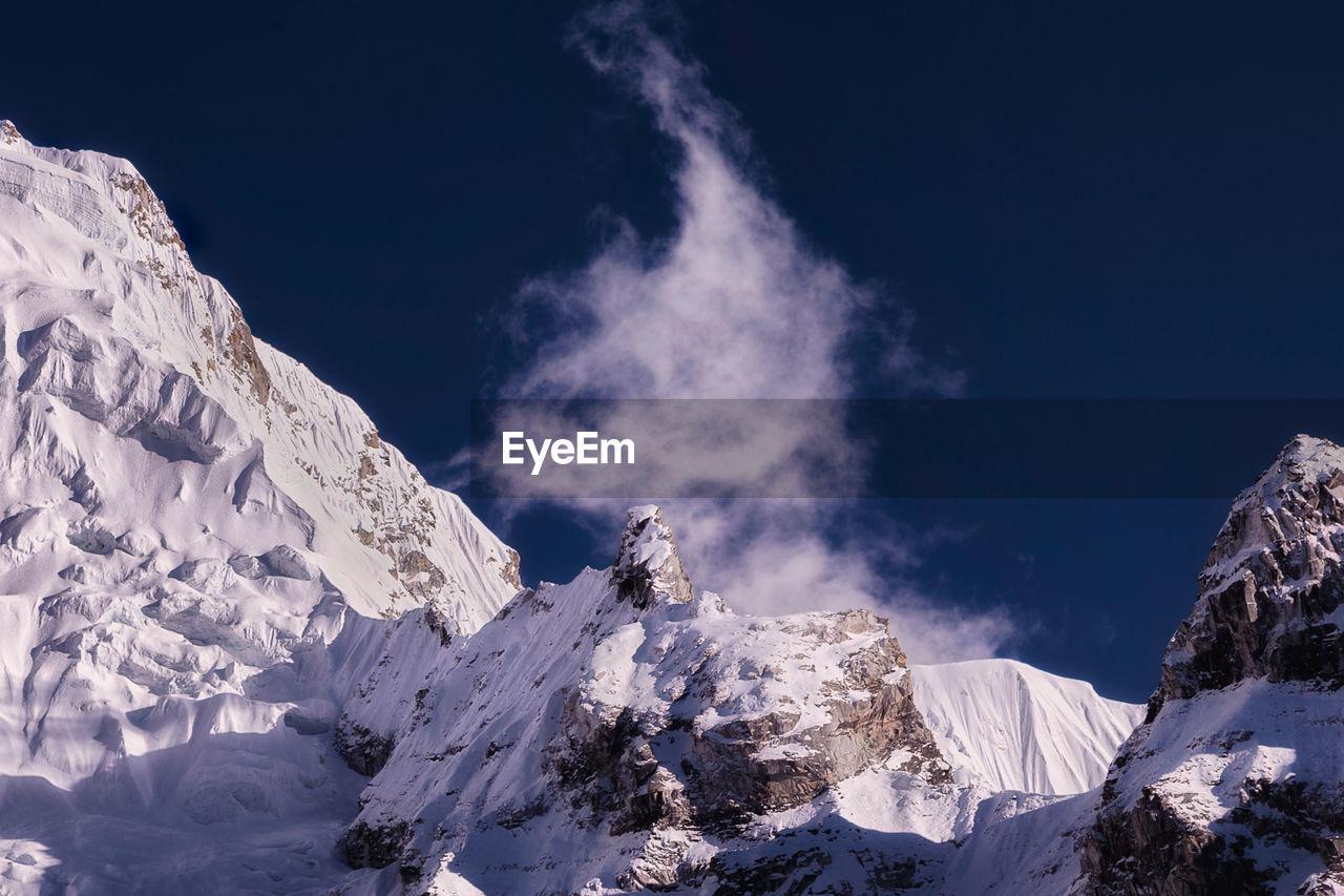 Himalayas Against Clear Sky