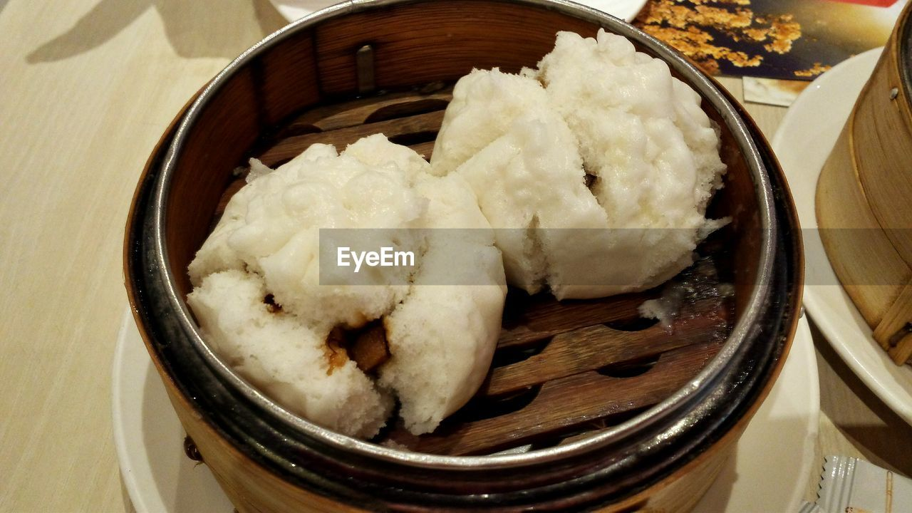 food and drink, food, ready-to-eat, still life, indulgence, serving size, freshness, indoors, dumpling, temptation, chinese dumpling, steamed, selective focus, no people, meal, bowl, appetizer, plate, chinese food, bamboo - material, table, stuffed, close-up, dim sum, cooked, gourmet, day