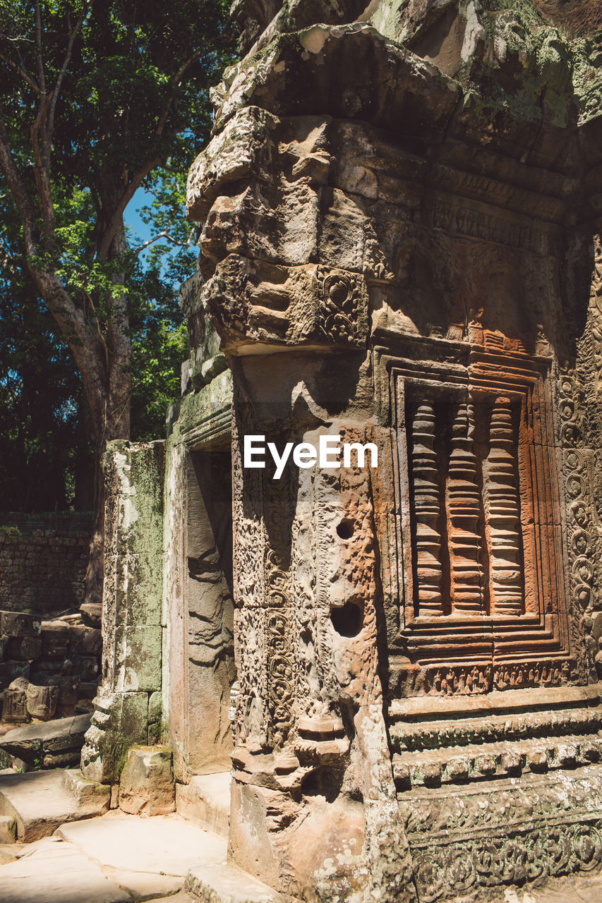 View Of Ancient Historical Temple