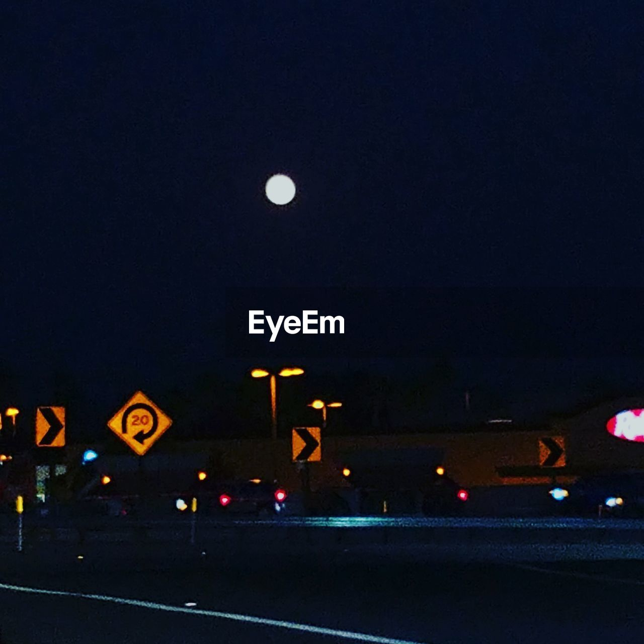illuminated, night, transportation, road, moon, mode of transport, no people, land vehicle, outdoors, sky, city, nature