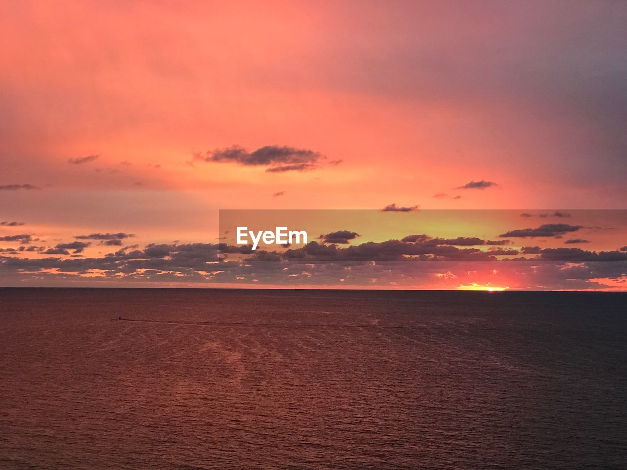 sunset, sky, beauty in nature, scenics - nature, tranquility, tranquil scene, cloud - sky, orange color, land, horizon, no people, water, sea, nature, idyllic, environment, non-urban scene, waterfront, horizon over water, outdoors, romantic sky