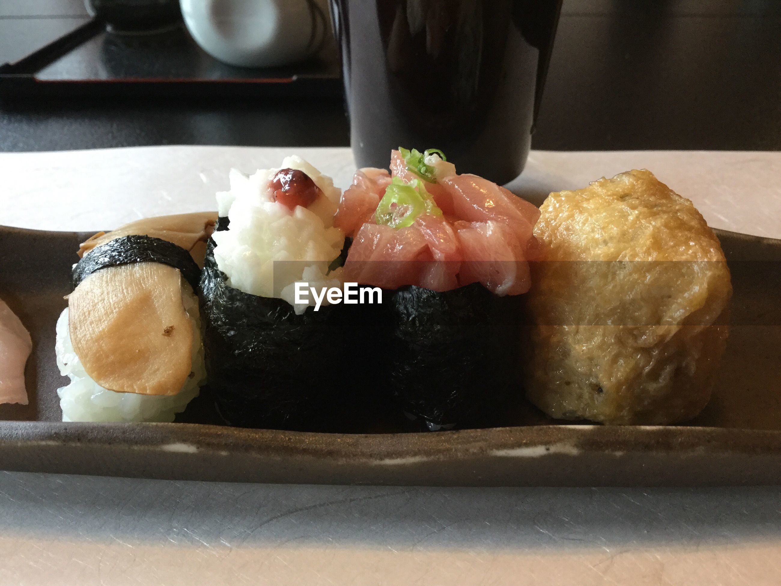 food and drink, food, indoors, close-up, serving size, ready-to-eat, indulgence, japanese food, meal, still life, freshness, temptation, tray, plate, appetizer, culture, preparation, savory food, homemade, dessert, garnish, food styling, serving dish, main course, asian food