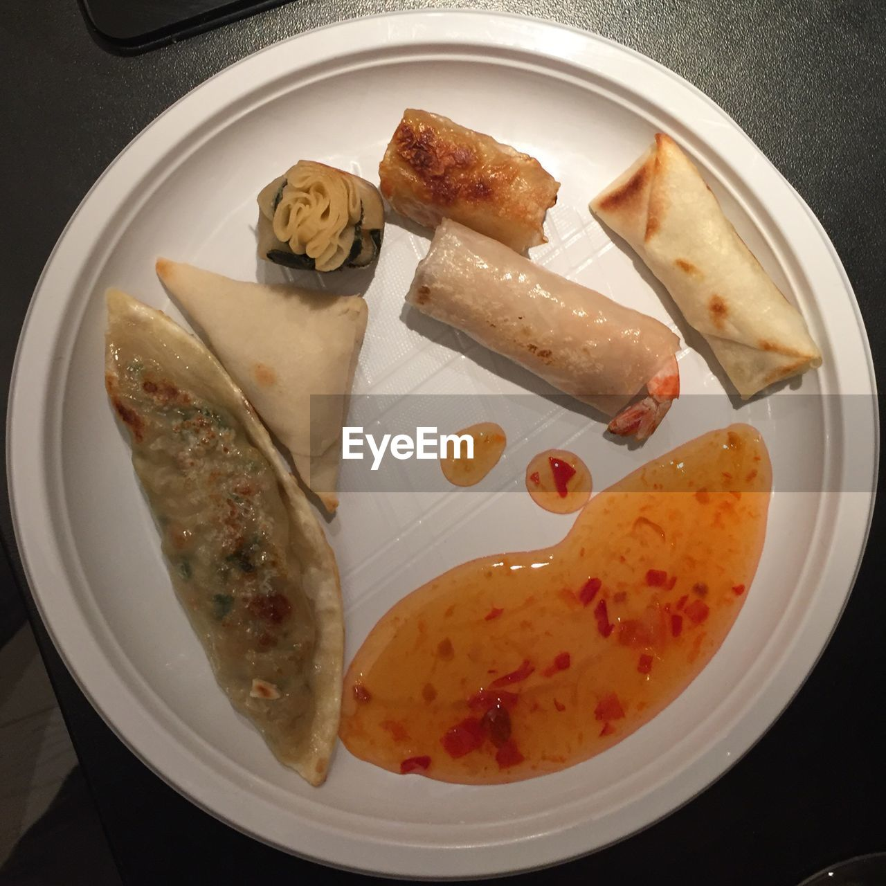 food, food and drink, plate, ready-to-eat, freshness, indoors, high angle view, healthy eating, no people, close-up