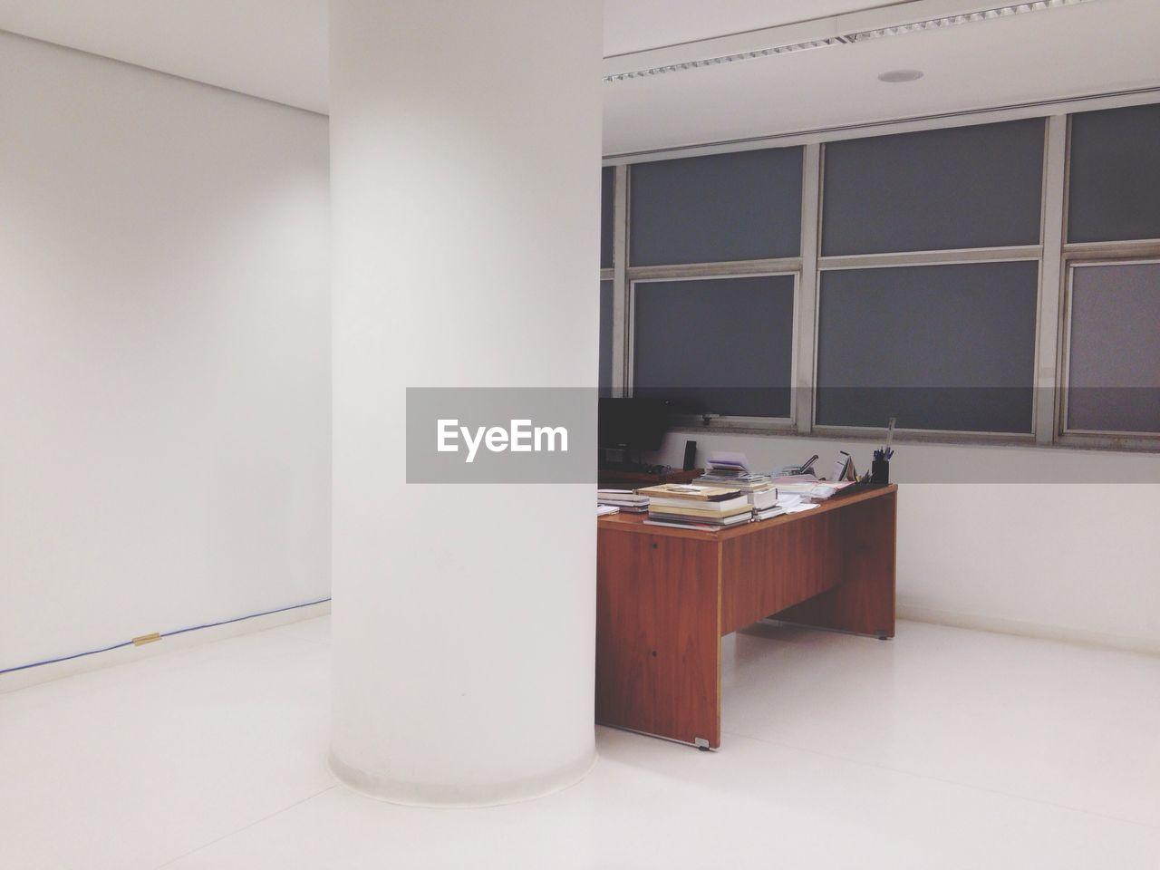 Interior of empty office