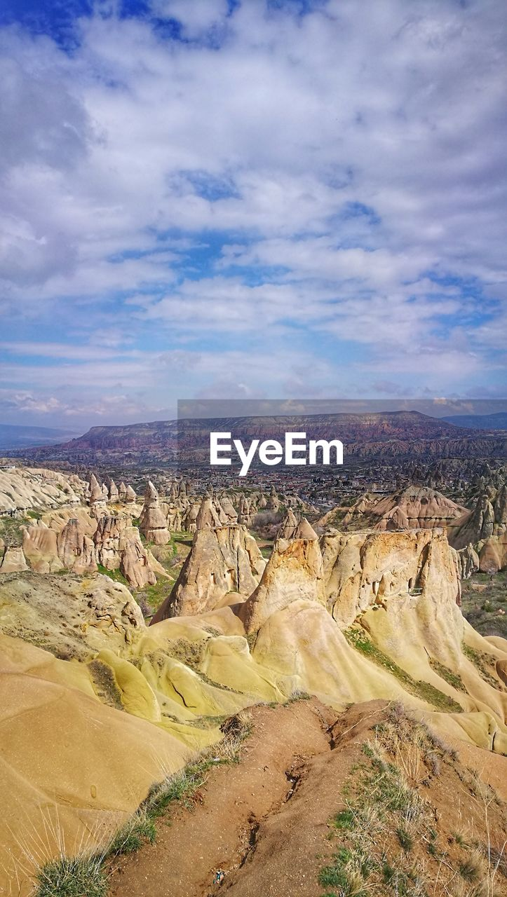 landscape, cloud - sky, sky, environment, beauty in nature, scenics - nature, non-urban scene, tranquil scene, nature, tranquility, land, rock formation, day, physical geography, no people, geology, mountain, remote, rock, travel destinations, climate, outdoors, arid climate
