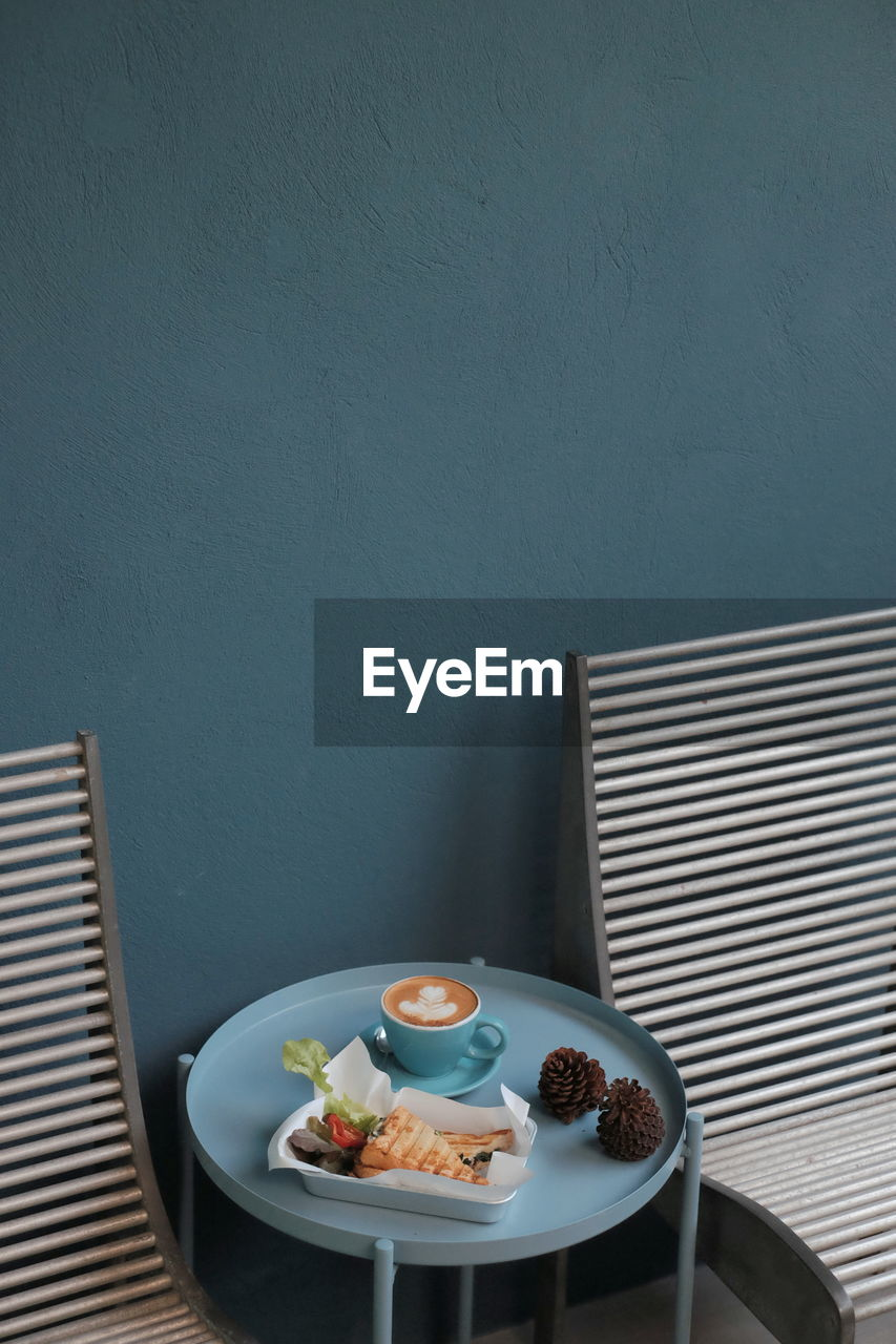 food and drink, food, table, wellbeing, plate, indoors, still life, bowl, healthy eating, freshness, no people, drink, meal, refreshment, high angle view, breakfast, ready-to-eat, serving size, kitchen utensil, eating utensil, temptation
