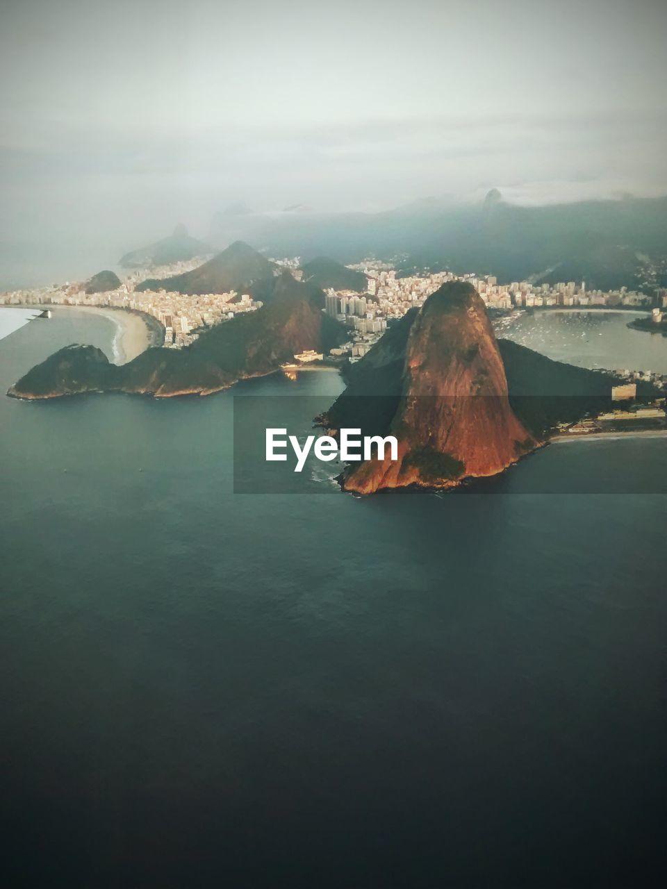 Scenic View Of Rio De Janeiro Brasil