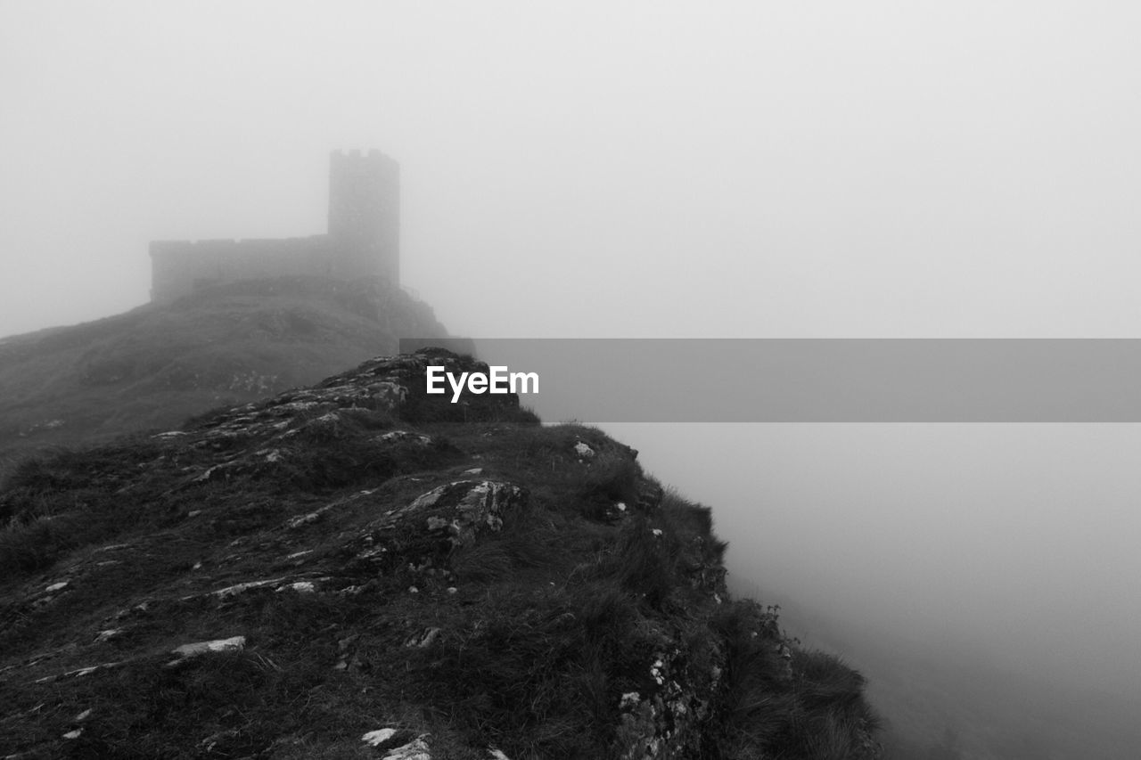 fog, foggy, mountain, mist, nature, day, outdoors, no people, scenics, landscape, beauty in nature, sky