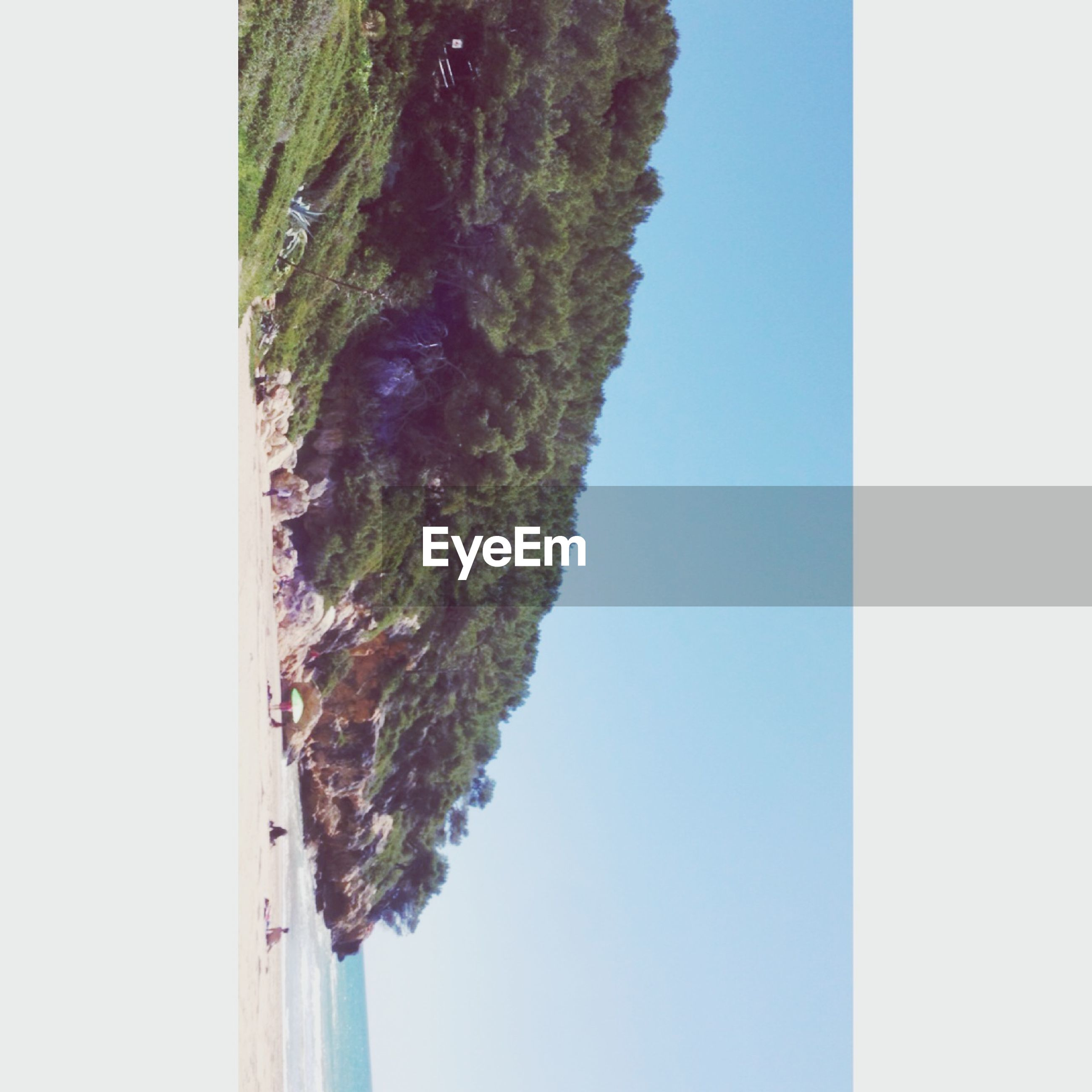 clear sky, copy space, transfer print, tranquility, tranquil scene, mountain, blue, scenics, beauty in nature, tree, nature, auto post production filter, landscape, day, idyllic, non-urban scene, outdoors, no people, water, remote