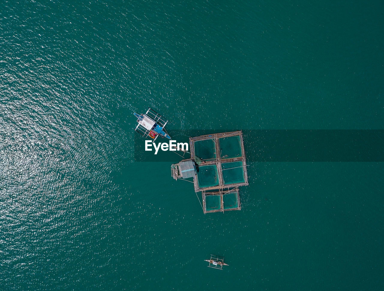 high angle view, nautical vessel, transportation, aerial view, water, no people, outdoors, day, sea, nature
