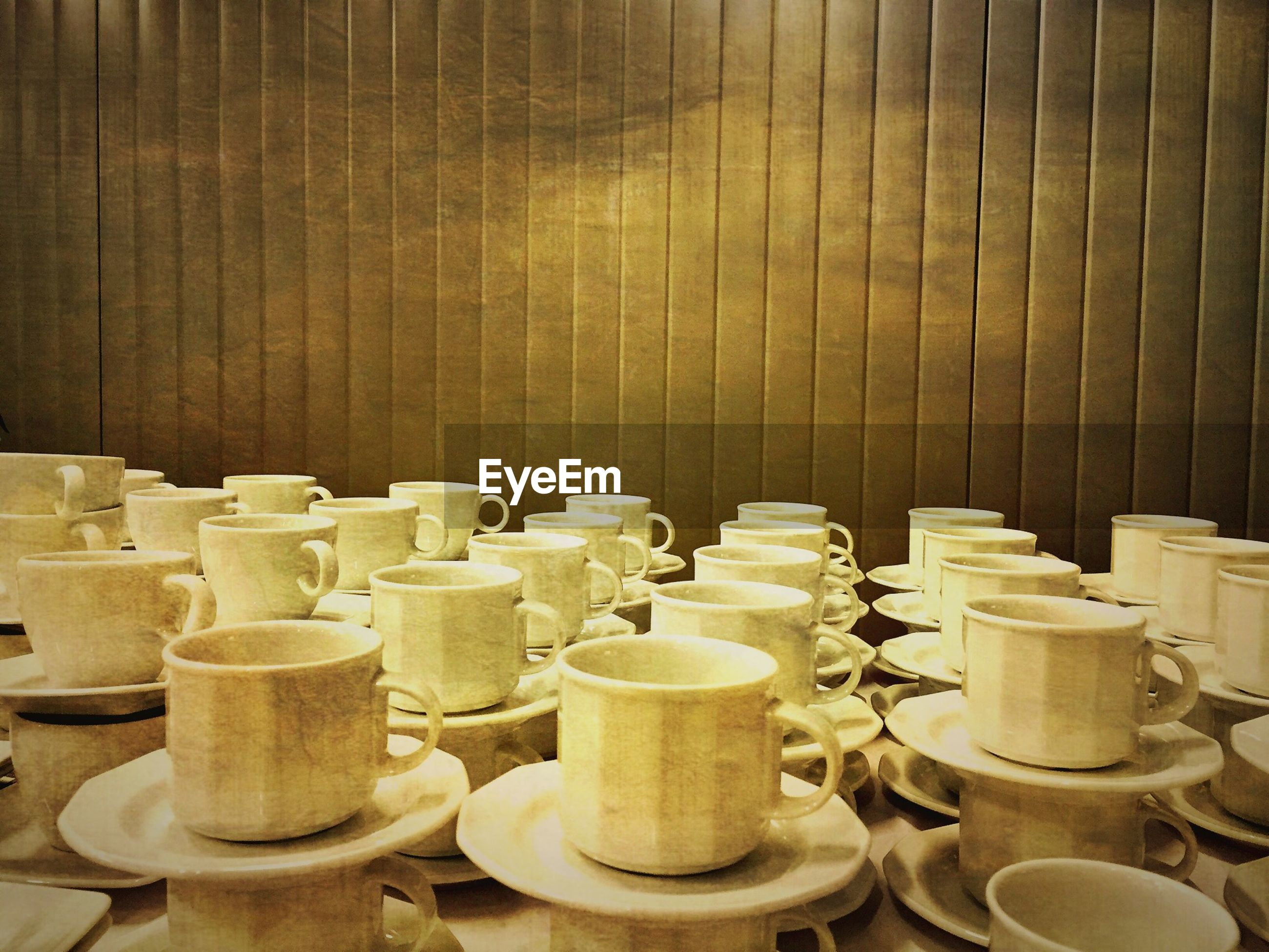 large group of objects, indoors, no people, day, close-up
