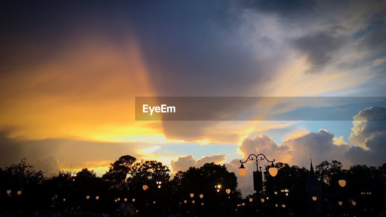 sunset, sky, silhouette, cloud - sky, tree, beauty in nature, nature, outdoors, scenics, no people, day