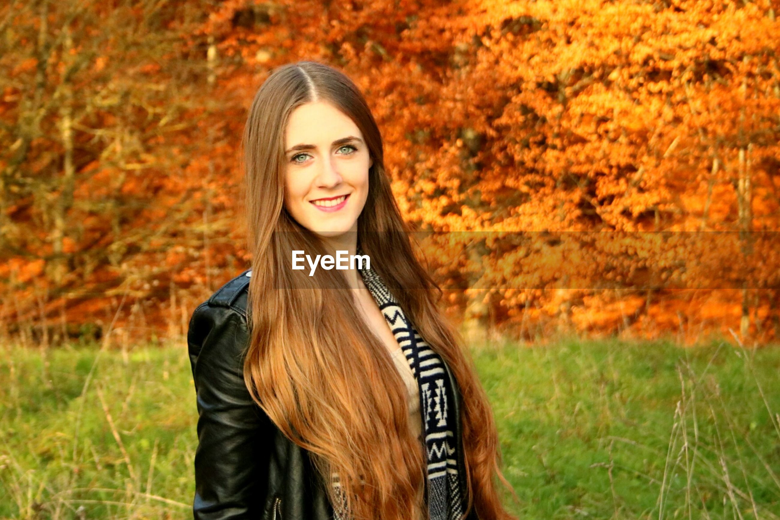 autumn, long hair, portrait, beauty, young adult, nature, smiling, beautiful people, grass, happiness, fashion, knitted, beauty in nature, adult, women, scarf, beautiful woman, outdoors, young women, sunset, tree, people, adults only, cheerful, close-up, only women, one young woman only, day