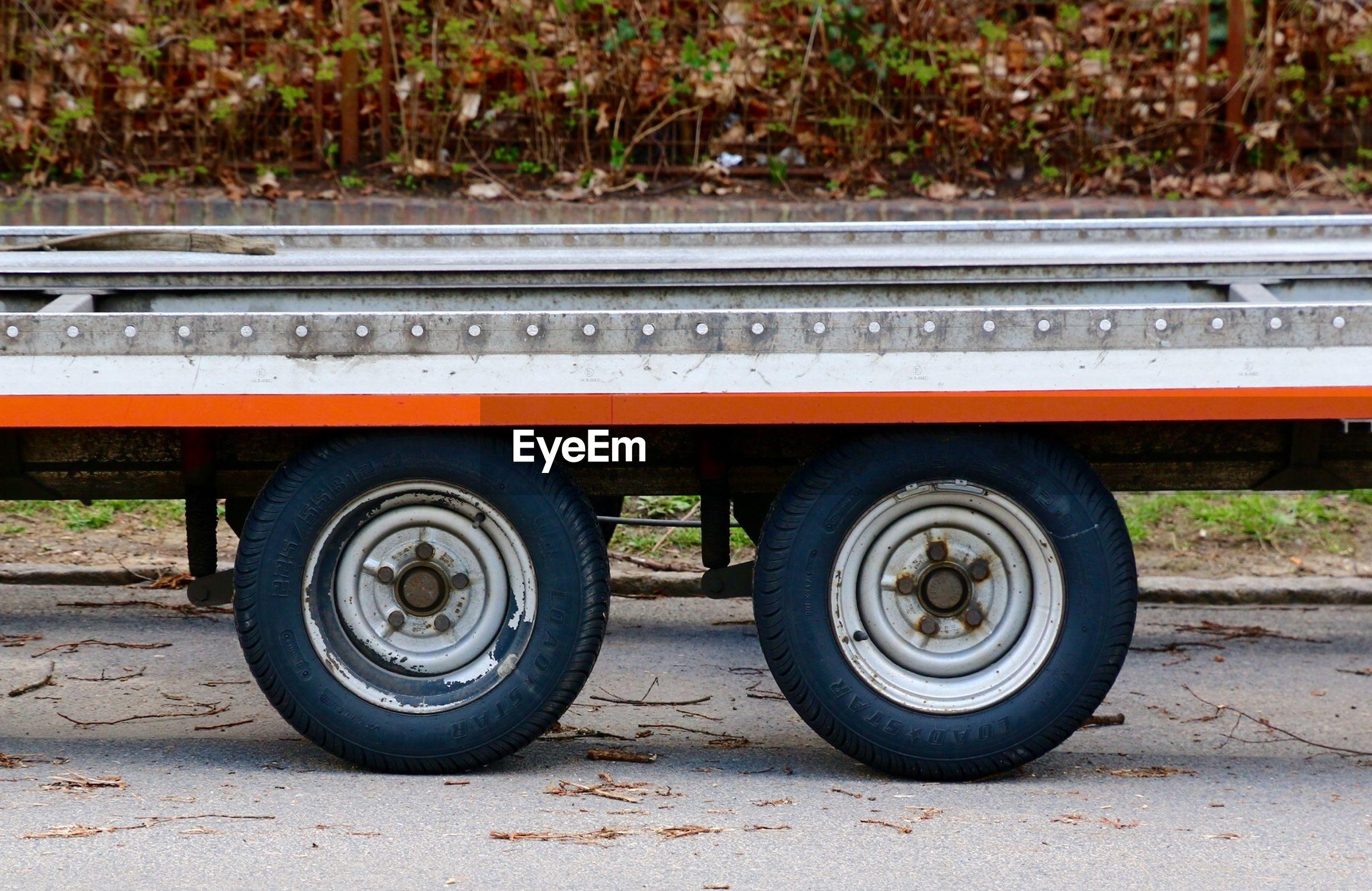 Tires of semi-truck