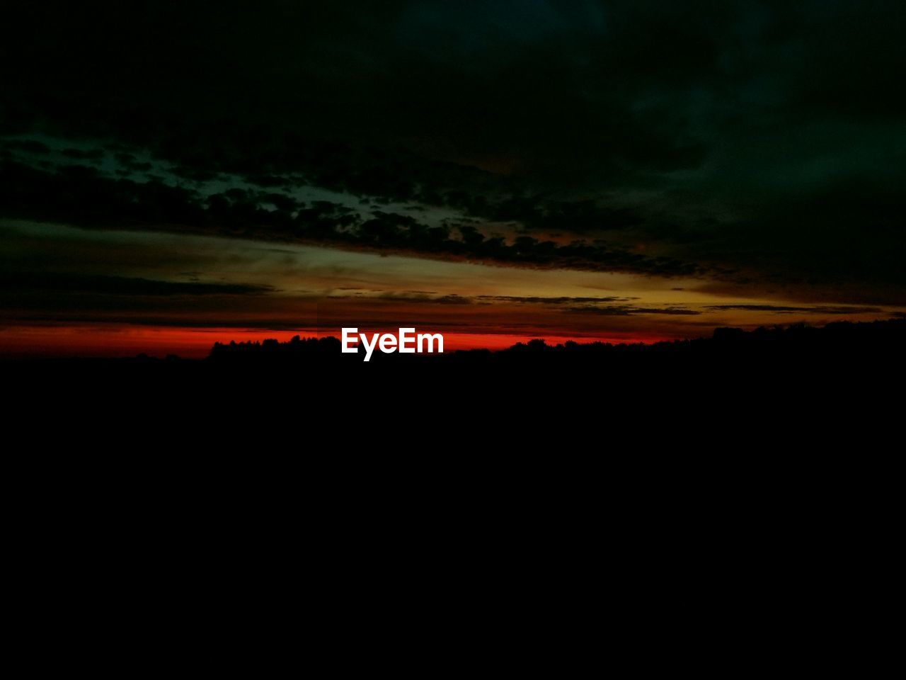 sky, sunset, silhouette, cloud - sky, nature, beauty in nature, environment, orange color, spooky, scenics - nature, dramatic, dark, no people, tranquility, tranquil scene, landscape, dramatic sky, idyllic, surreal, cloudscape