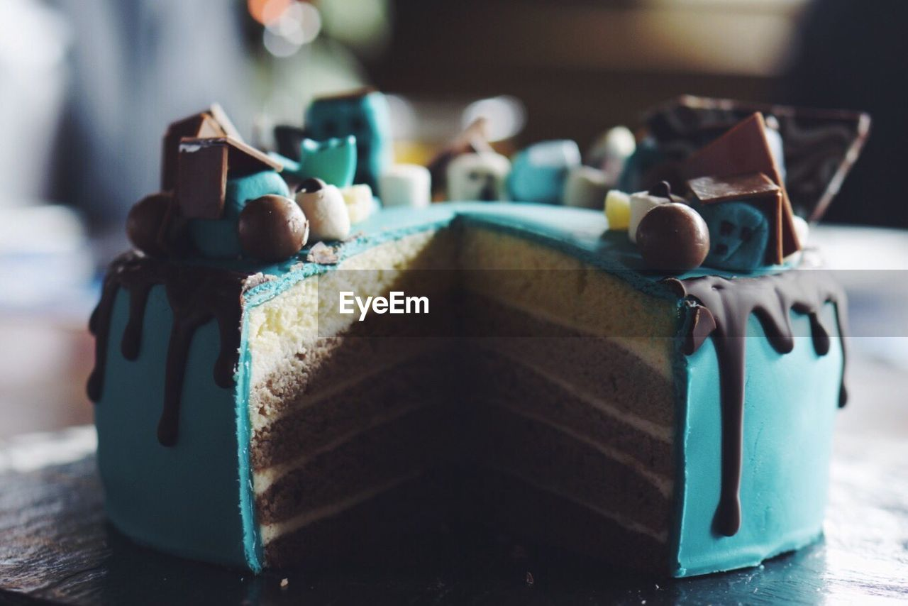Close-up Of Cake