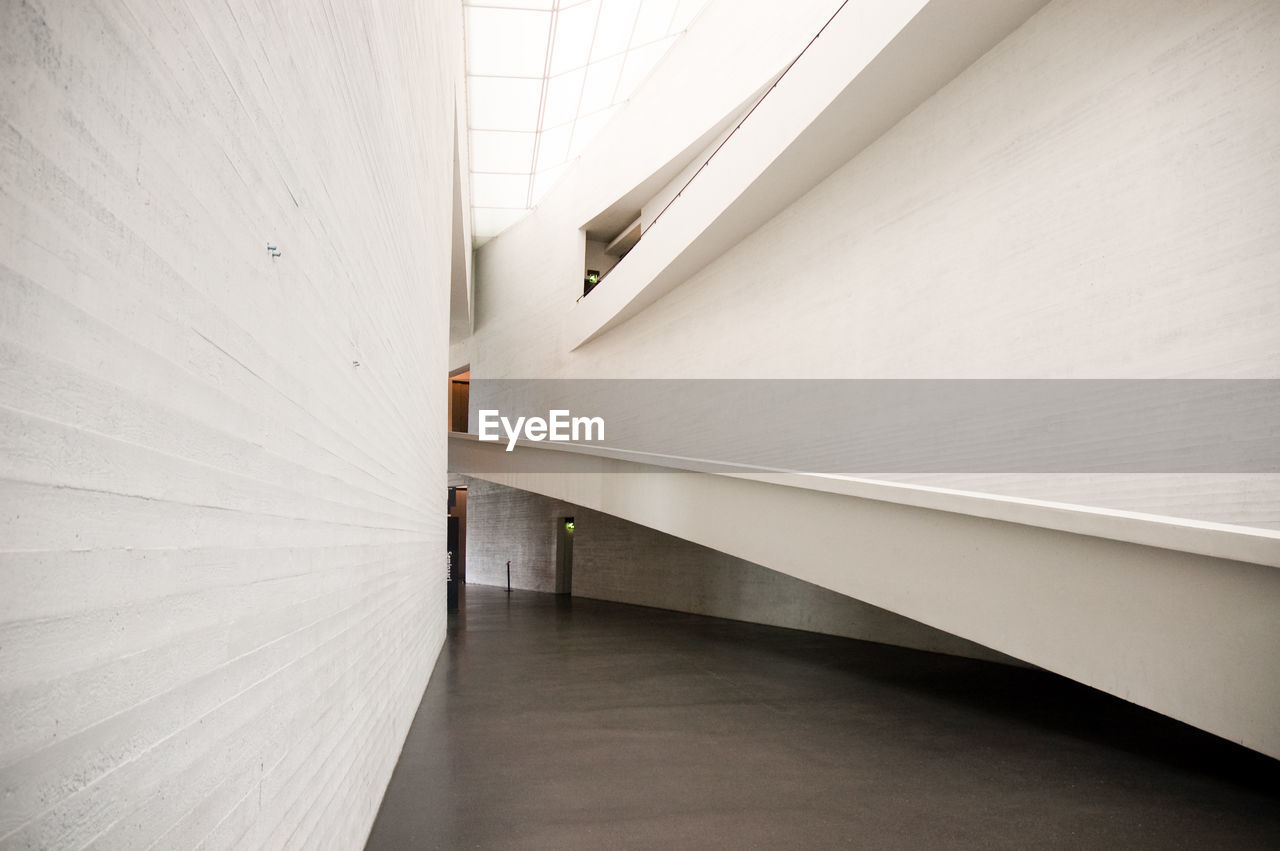 indoors, white color, steps and staircases, architecture, built structure, no people, museum, day, illuminated, close-up