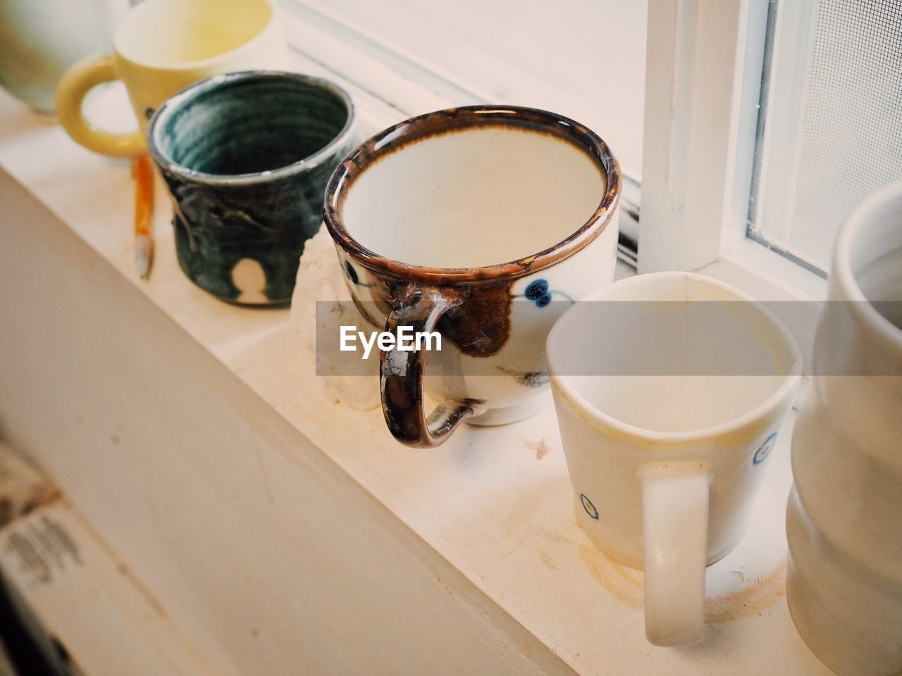 drink, indoors, refreshment, cup, food and drink, table, no people, mug, still life, high angle view, close-up, container, food, freshness, household equipment, hot drink, tea, coffee, coffee - drink, tea cup, non-alcoholic beverage, crockery