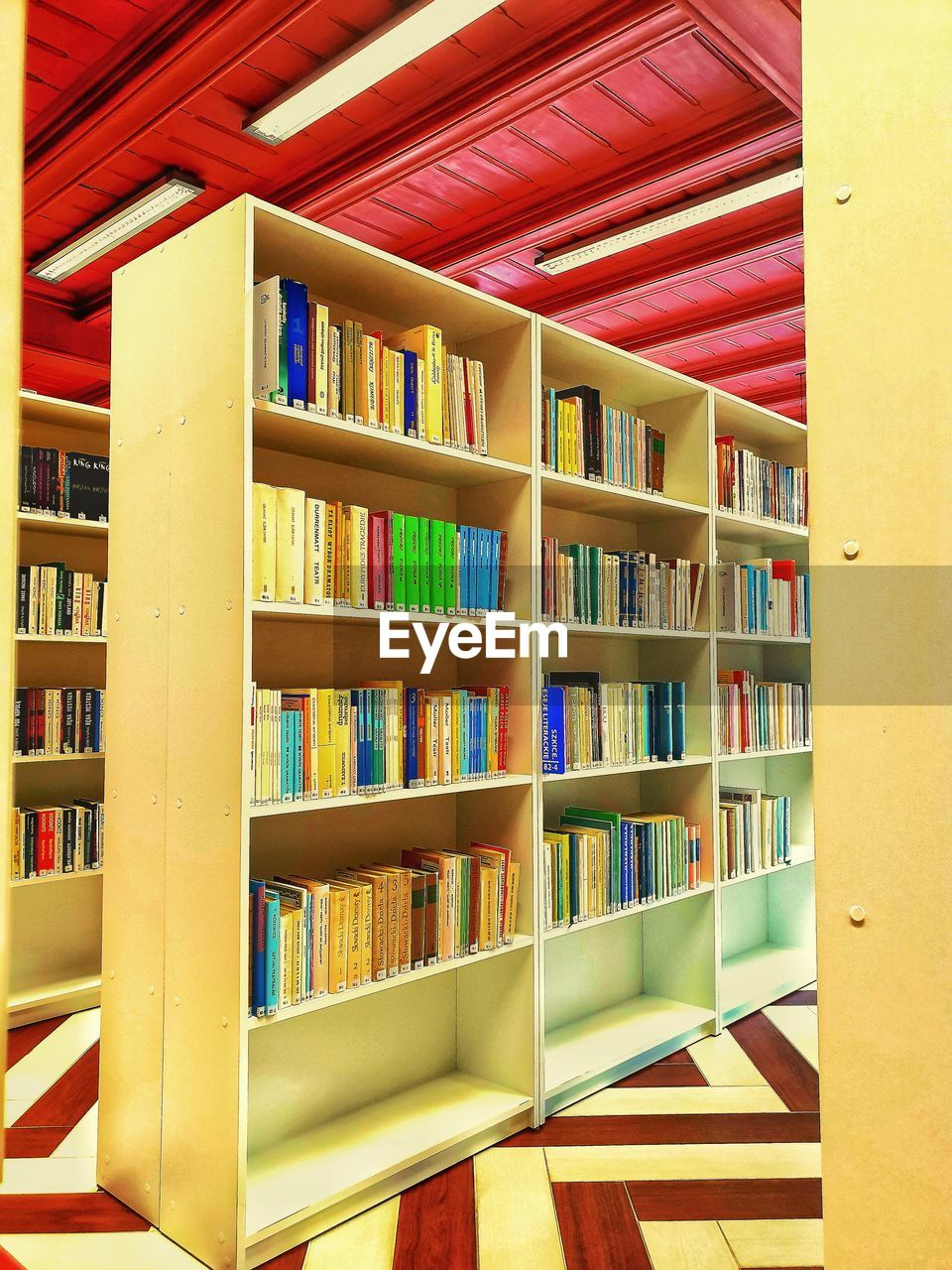 shelf, publication, book, bookshelf, education, library, large group of objects, indoors, multi colored, arrangement, no people, architecture, choice, order, expertise, literature, in a row, abundance, collection, hardcover book