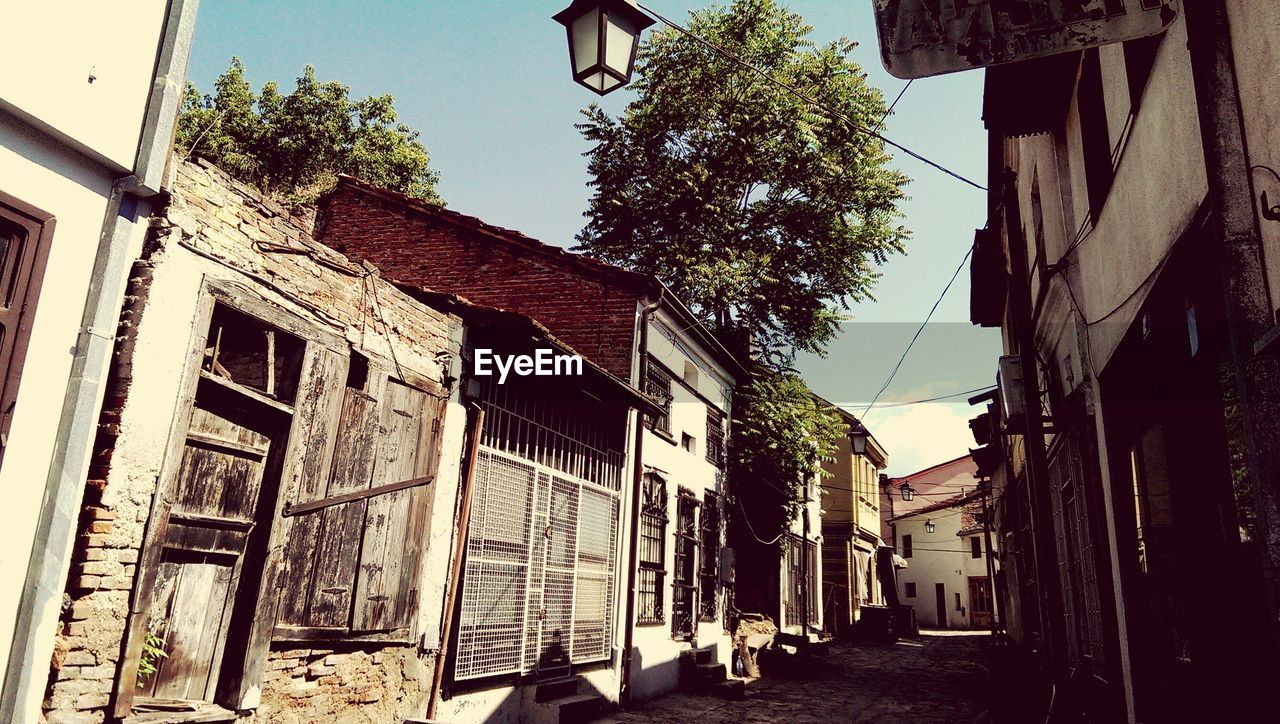 Old houses in macedonia