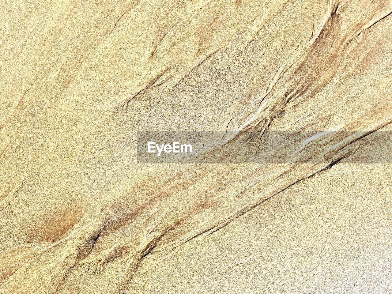 Detail Shot Of Sand
