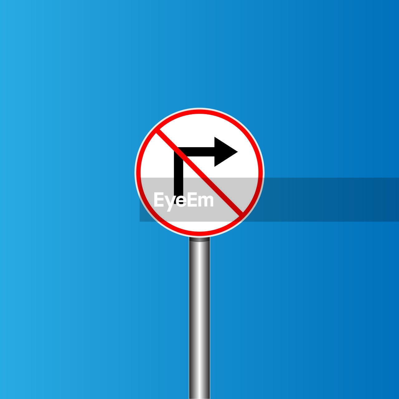 sign, communication, road sign, blue, red, circle, road, guidance, geometric shape, warning sign, shape, symbol, forbidden, information, no people, information sign, day, copy space, design, do not enter sign, road warning sign, warning symbol, blue background