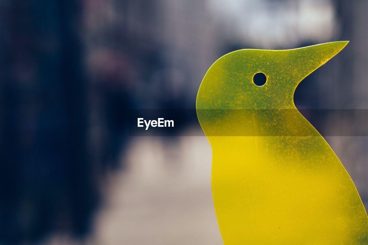 Close-Up Of Sculpture Bird