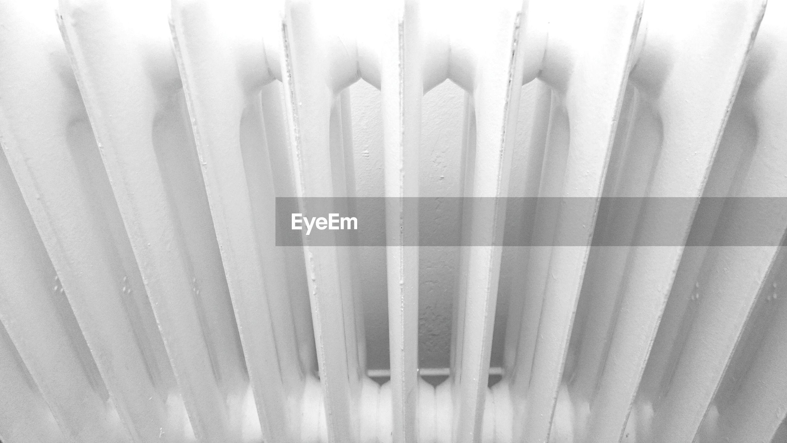 Full frame shot of radiator