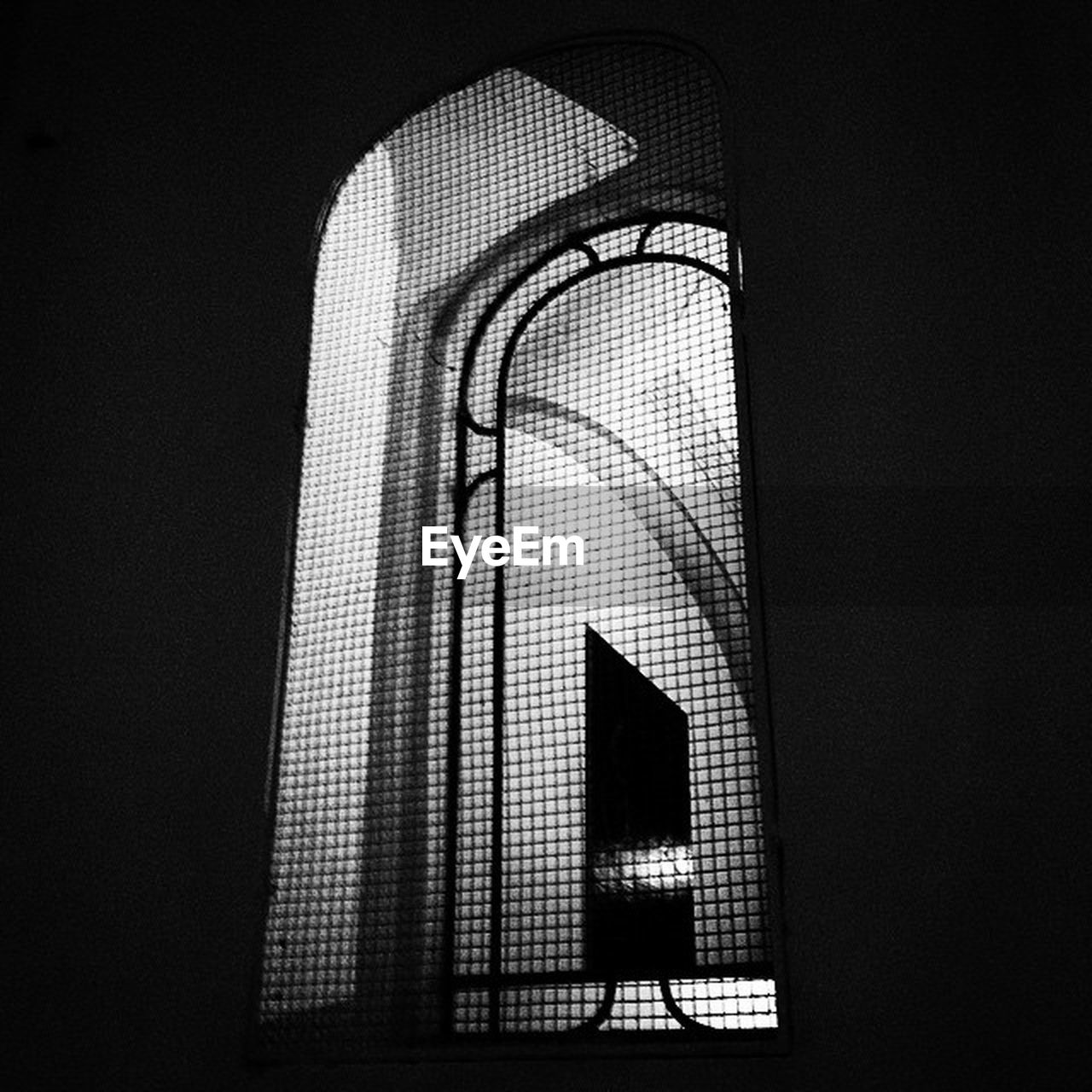 low angle view, indoors, illuminated, no people, studio shot, close-up, architecture, day
