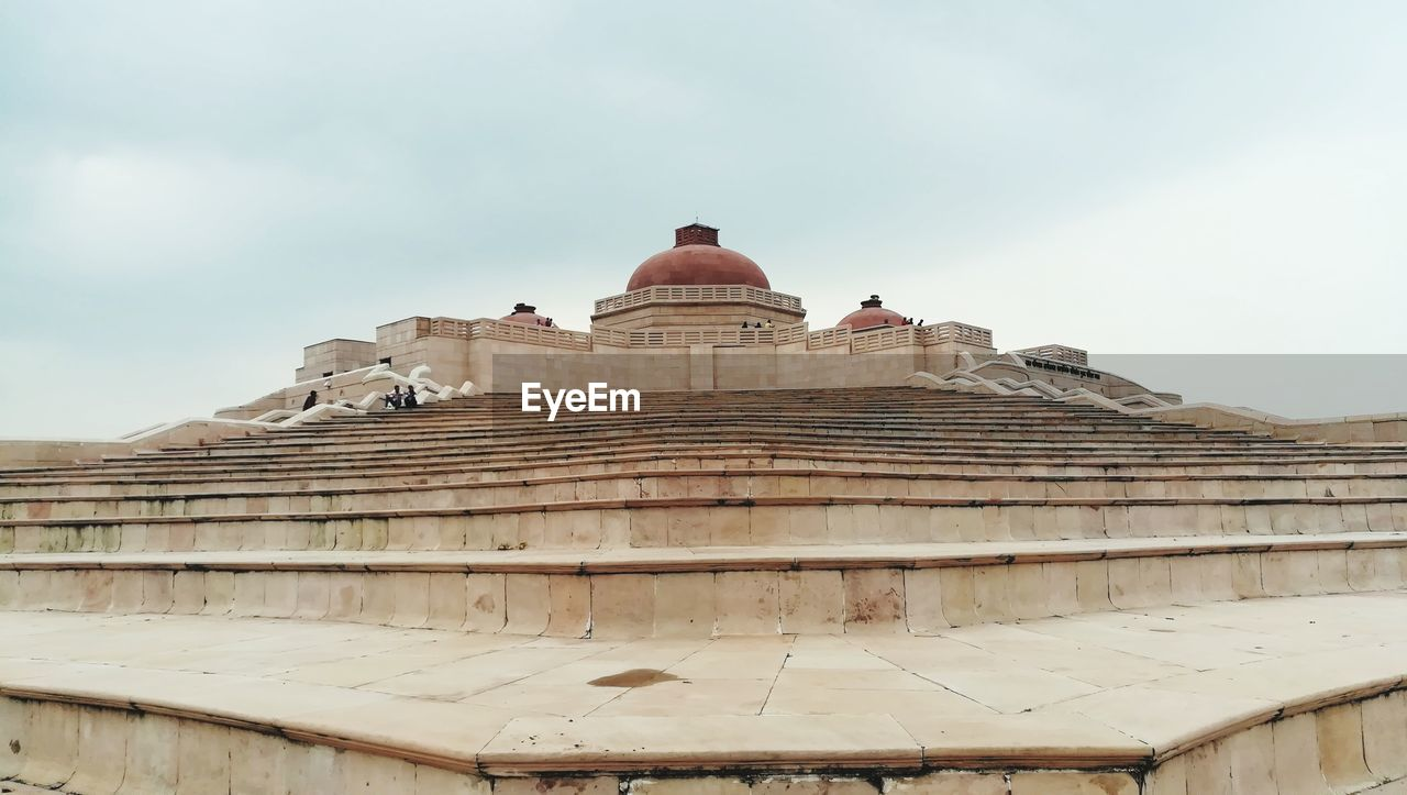 architecture, dome, low angle view, built structure, history, religion, building exterior, travel destinations, spirituality, day, no people, place of worship, sky, outdoors, ancient civilization