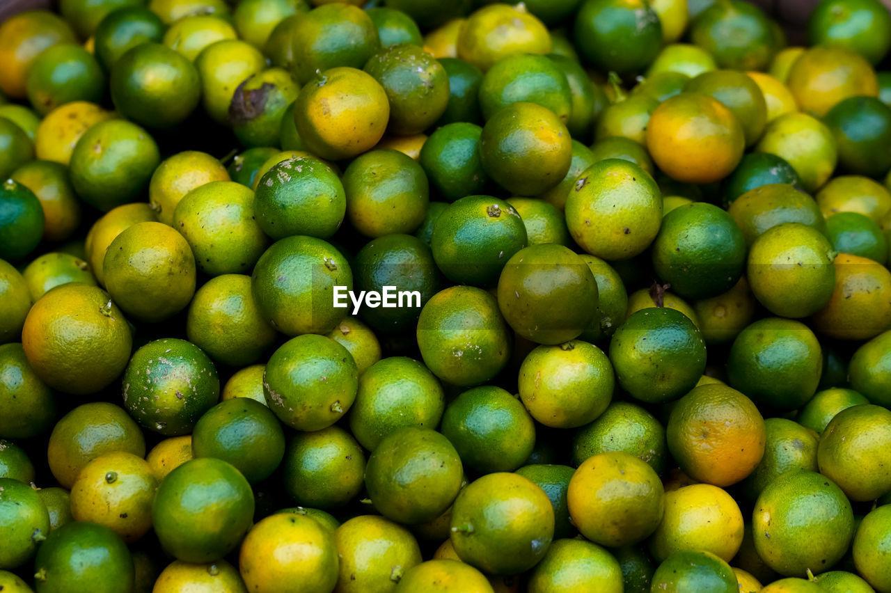 Full Frame Shot Of Lemons