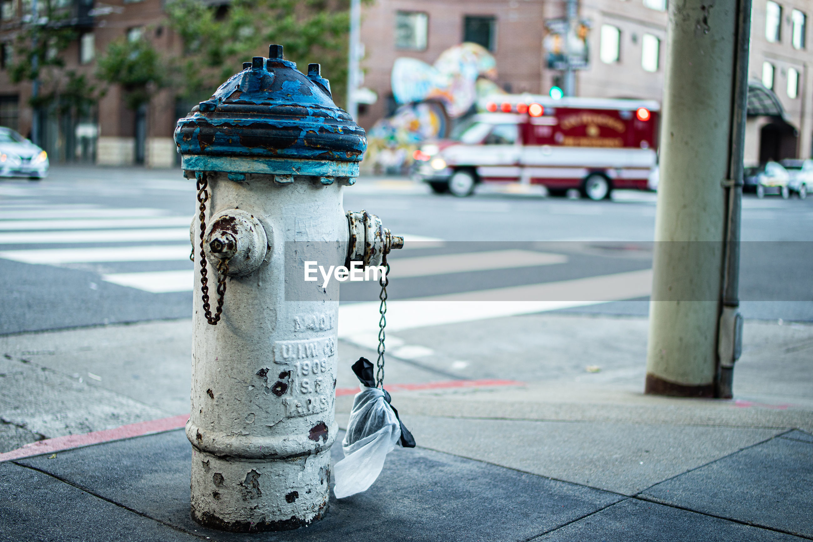 FIRE HYDRANT ON STREET