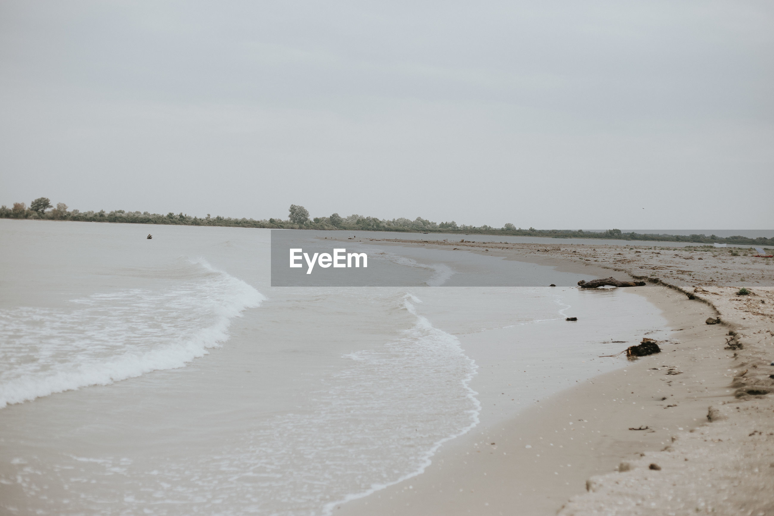 VIEW OF BEACH AGAINST SKY