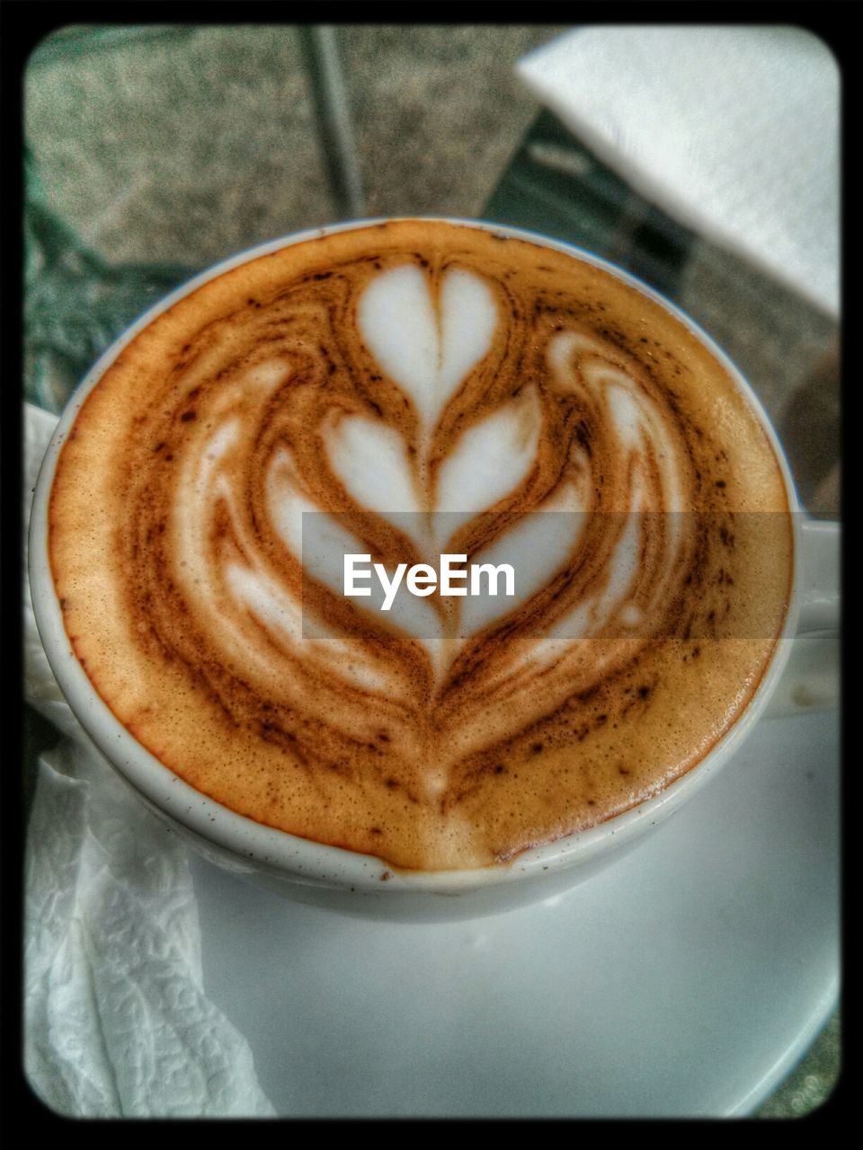 coffee cup, coffee - drink, cappuccino, frothy drink, froth art, refreshment, drink, food and drink, latte, foam, creativity, saucer, cup, close-up, table, indoors, no people, froth, freshness, thick, mocha, day