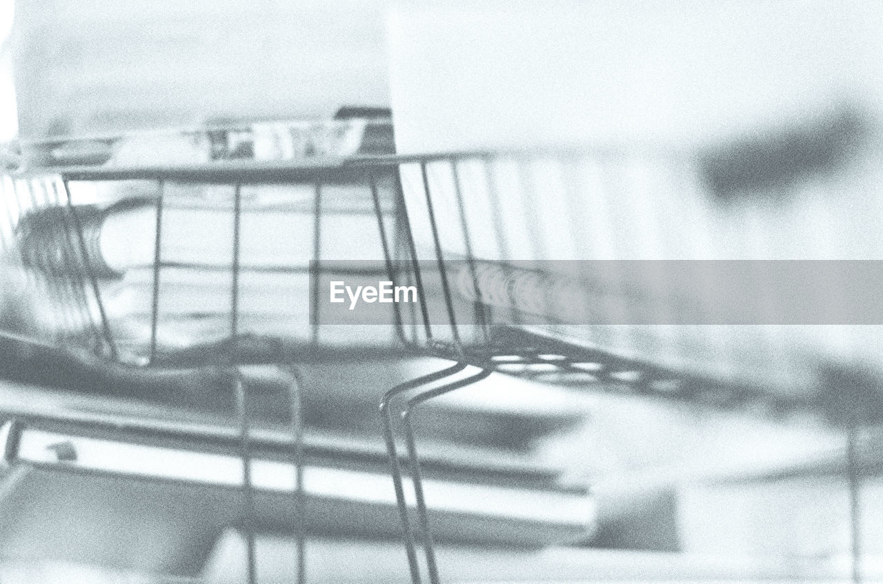 shopping cart, trolley, indoors, no people, consumerism, close-up, day, supermarket