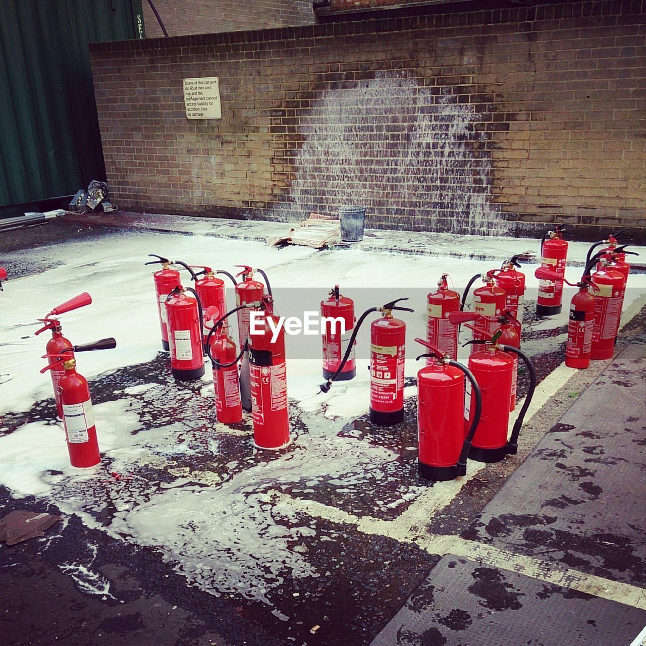 Fire Extinguishers By Building