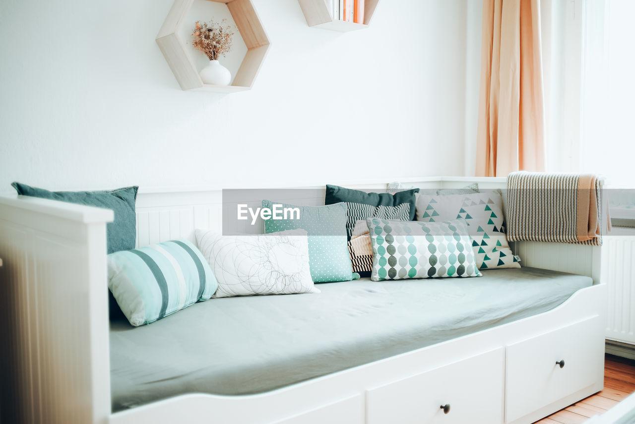 View Of Bed In Bedroom