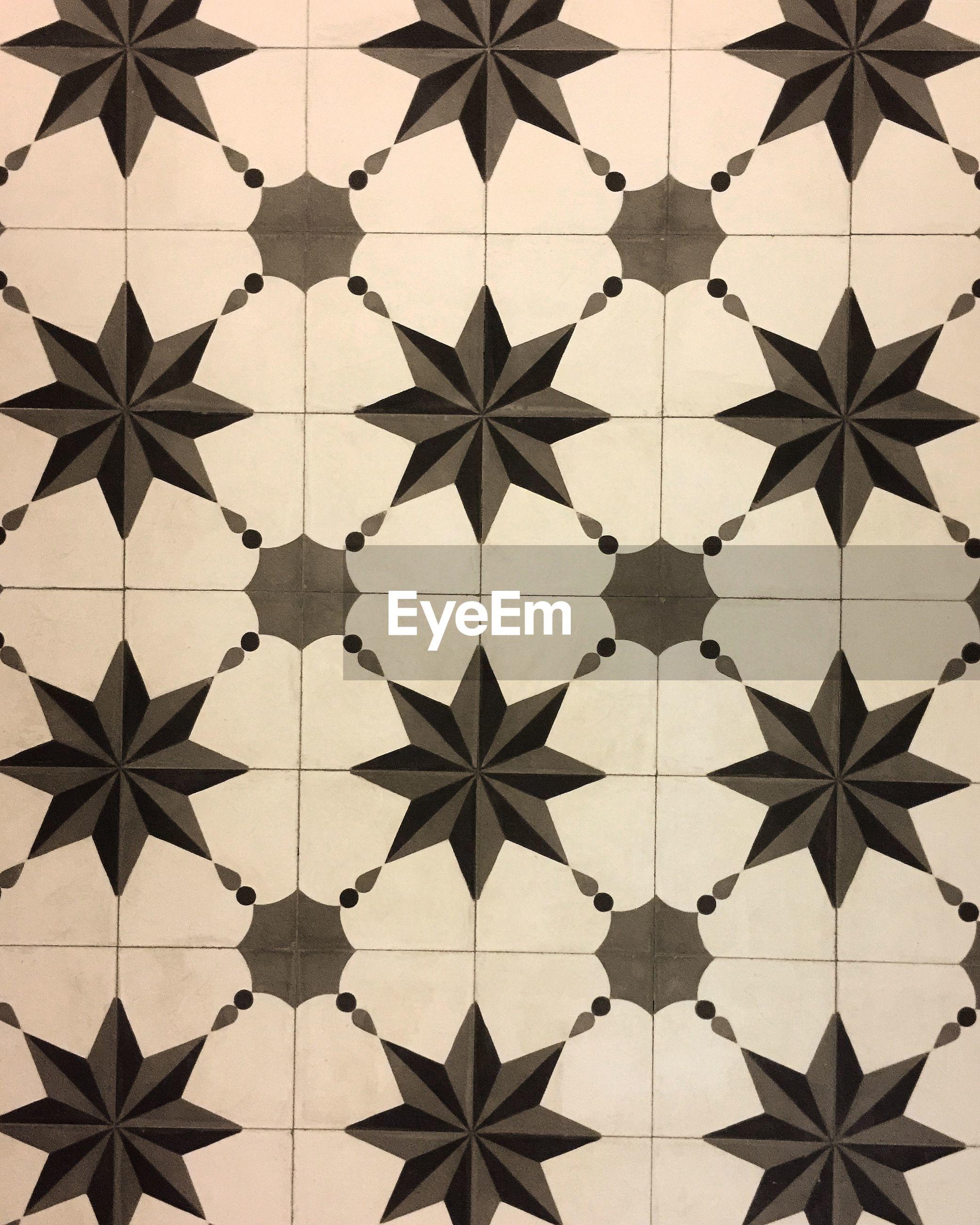 Full frame shot of tile floor