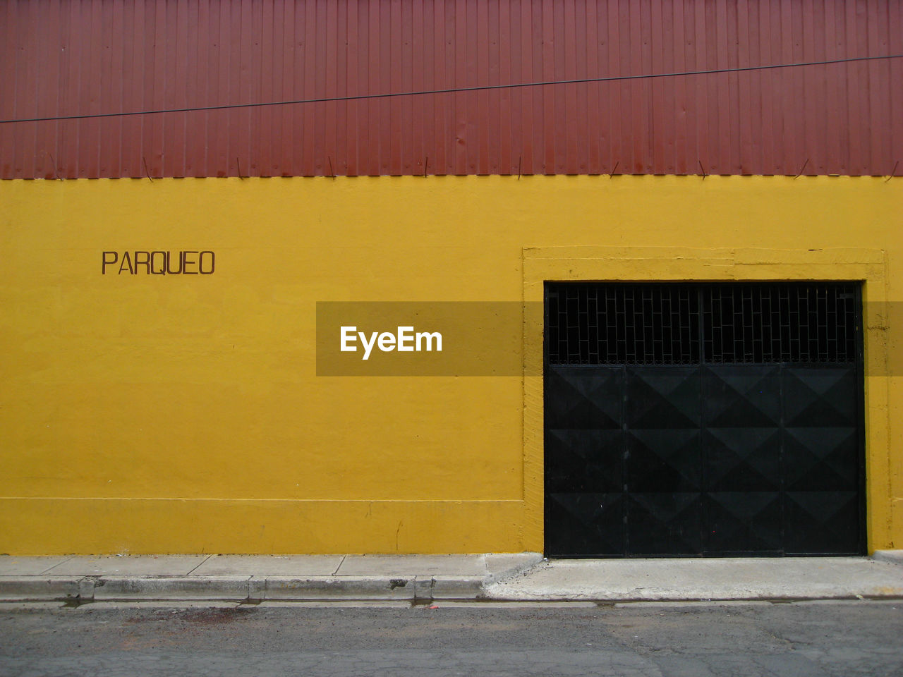 Text On Yellow Wall