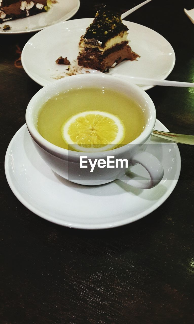 food and drink, drink, refreshment, freshness, plate, saucer, food, serving size, table, indoors, no people, tea - hot drink, healthy eating, close-up, ready-to-eat, sweet food