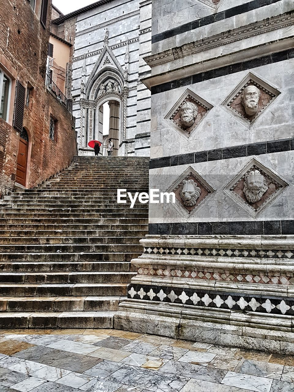 architecture, built structure, staircase, building exterior, building, religion, spirituality, place of worship, belief, low angle view, steps and staircases, no people, day, the past, history, travel destinations, travel