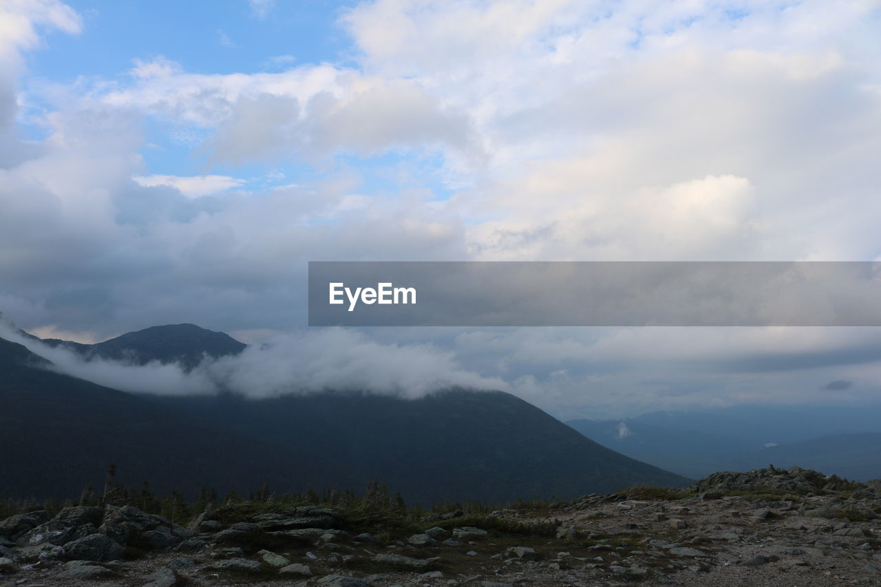 cloud - sky, mountain, beauty in nature, sky, tranquility, nature, tranquil scene, scenics, outdoors, day, no people, landscape